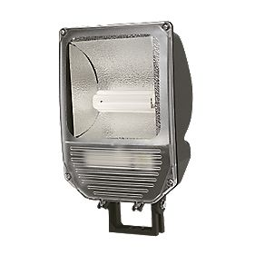 Trac Trac-Pro CFL 26W Asymmetric Commercial Floodlight & Photocell