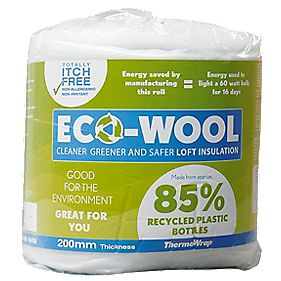 ThermaWrap Eco-Wool Loft Insulation 2.96m² Pack of 2