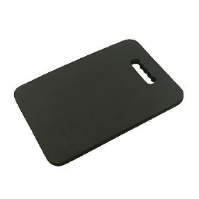 Memory Foam Support Knee-Saver Mat Black