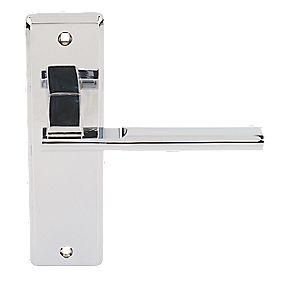 Jedo Delta Door Handle Pack Polished Chrome