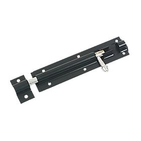 Tower Gate Bolt Black 150mm