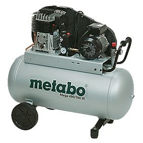 Metabo Mega 490 90Ltr Air Compressor 230V