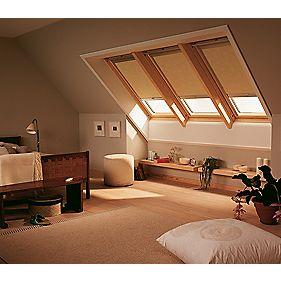 Velux Roof Window Blackout Blind Beige 393 x mm