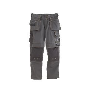 "Mascot Almada Trousers Dark Anthracite 38"" W 32"" L"