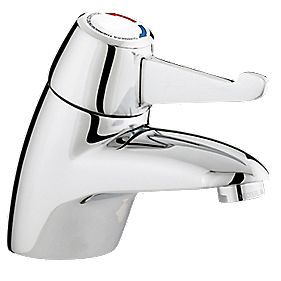 Franke TMV3 Single Lever Thermostatic Basin Mixer Tap with Short Lever