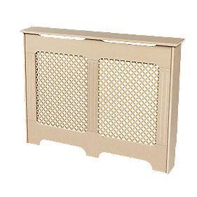 MDF Radiator Cabinet Small Unfinished 1017 x 180 x 800mm