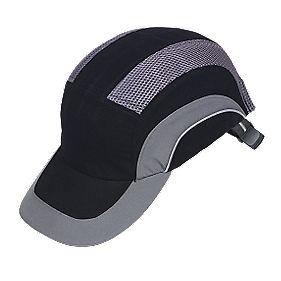 JSP Hardcap A1 Bump Cap Black/Grey