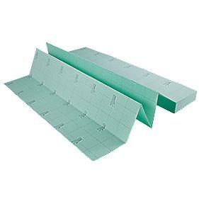 Comfort extruded polystyrene foam underlay 15m underlay for Wood floor underlay screwfix