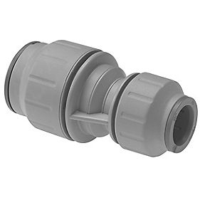 JG Speedfit PEM201510DGP 15mm x 10mm Reducing Coupler Grey