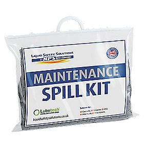 Lubetech Black & White Maintenance Spill Response Kit 20Ltr
