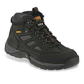 DeWalt Velocity Safety Trainer Boots Black Size 7 + Free Bag