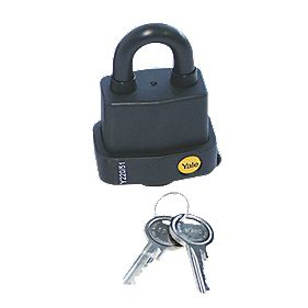 Yale Weatherproof Padlock Steel 53mm