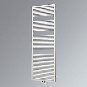Ximax Vesta Vertical Designer Towel Radiator White 1270 x 600mm 2771BTU