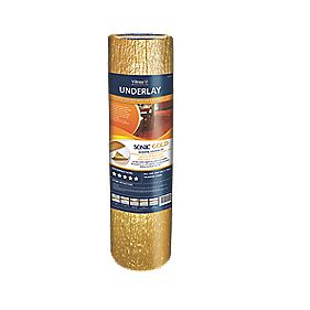 Vitrex Sonic Gold Acoustic Wood & Laminate Underlay 2.5mm 10m² Gold