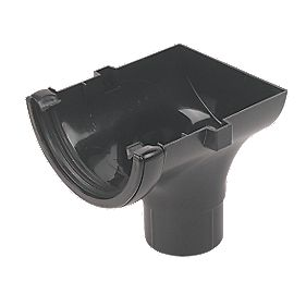FloPlast Cast Iron Effect Stopend Outlet