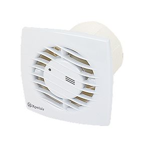 Xpelair SL100HT 100mm Shallow Profile Axial Fan