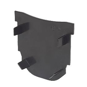FloPlast FloDrain Closed End Cap Black 115mm x 103mm