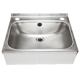 Franke WB18 Square Stainless Steel Wall-Hung Washbasin & Waste Pack