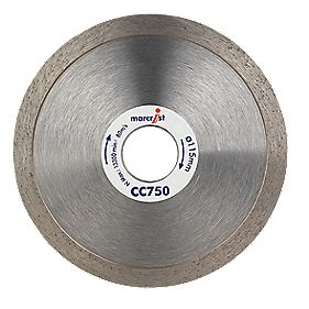 Marcrist CC750 Tile Curve Cutting Blade 115 x 22.2mm Bore