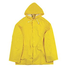 "Endurance Rainmaster 2-Piece Waterproof Rain Suit Yellow Lge 42-44"" Chest"