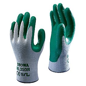 Showa Best 350R Thornmaster Nitrile Grip Gloves Green Large