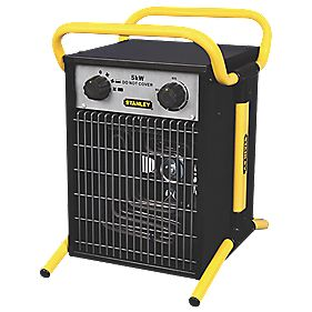 Stanley 5kW Electric Fan Heater 400V