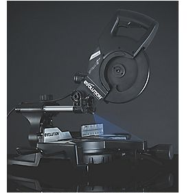 Evolution Stealth RAGE 3-S 210mm Multipurpose Sliding Mitre Saw 110V