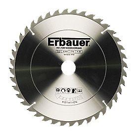 Erbauer TCT Circular Saw Blade 40T 255x30mm