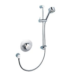Mira Discovery Thermostatic Mixer Shower Flexible Built-In Chrome