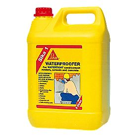 Sika 1 Waterproofer 5Ltr