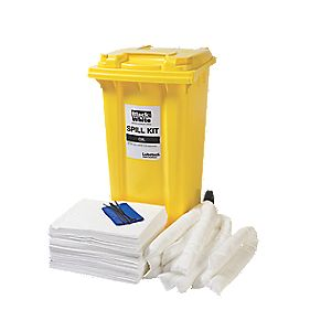 Lubetech 240Ltr Black & White Oil Spill Response Kit