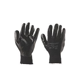 Honeywell Perfect Fit Nitrifit Mechanical Hazard Mix Gloves Black Large