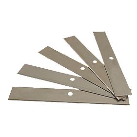 "No Nonsense Scraper Blades 5¾"" Pack of 5"