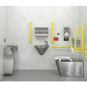 DOC M Pack Traditional Bathroom Suite with Exposed Cistern