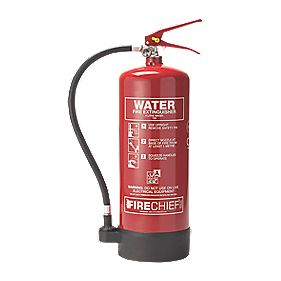 Firechief Fire Extinguisher Pressure Water 6Ltr