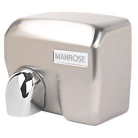 Manrose MAN/E-88ACS Automatic Hand Dryer Satin Chrome 2.4kW