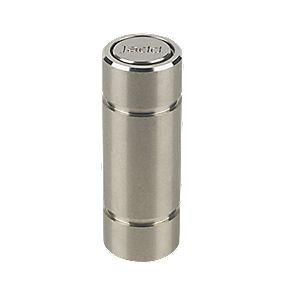 Surface Bolt Socket Medium Silver 70mm