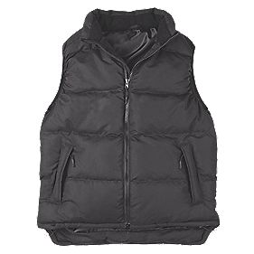 Site Ash Gilet Bodywarmer Black Medium 40-41""