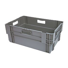 60Ltr Stack & Nest Container 600 x 400 x 320mm Pack of 5