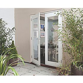 Jeld-Wen Wellington Fully Finished French Doors Satin Silver 1500 x 2100mm