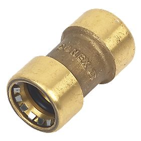 Conex Push-Fit 270 Straight Coupler 15mm