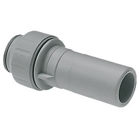 JG Speedfit PEM061510DGP 15mm x 10mm Straight Reducer Grey
