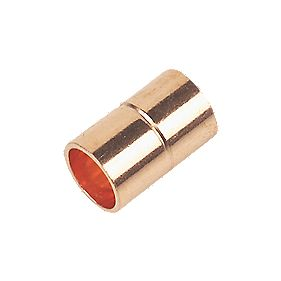 Flomasta Straight Coupler End Feeds 8mm Pack of 2