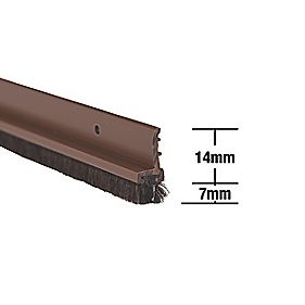 Stormguard Door & Window Strips Brown 1.05m