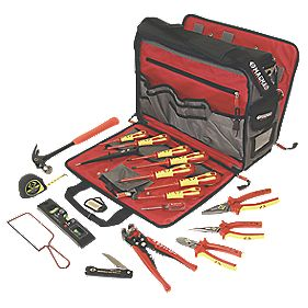 CK Electricians Premium Tool Kit & Bag
