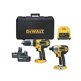 DeWalt DCX424A2-GB 18V Combi Drill & Impact Driver Twin Pack