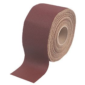 Flexovit Pro E-Weight Aluminium Oxide Abrasive Roll 115mm x 50m 60 Grit