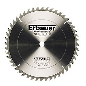 Erbauer TCT Circular Saw Blade 48T 250x16mm