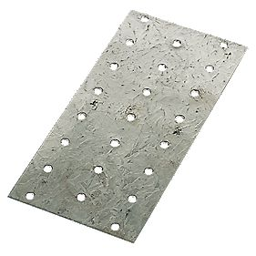 Galvanised Nail Plates 76 x 152mm Pack of 50