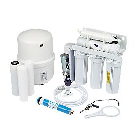 Pumped Reverse Osmosis Water Filter System